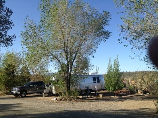 Point of Rocks Campground: camping on the outer circle