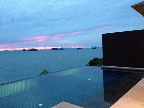 Conrad Koh Samui: amazing sunset