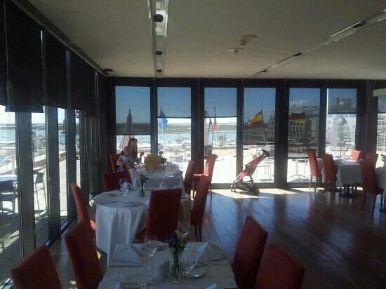 Ria Formosa Restaurant: the view, main restaurant
