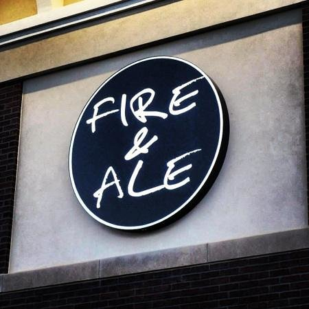 Fire and Ale: sign
