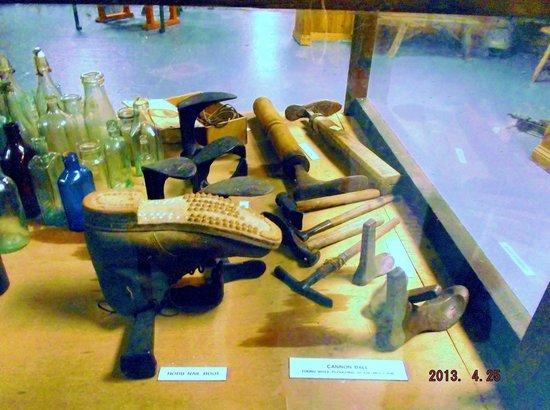 The Milky Way Adventure Park: old cobbler tools