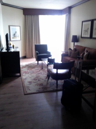 Omni Austin Hotel Downtown: Comfortable sitting room!