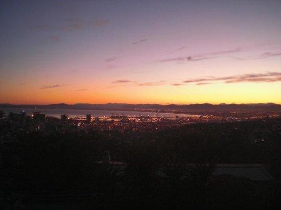 Blue Sky B&B: Aussicht vom Zimmer zu Morgengrauen