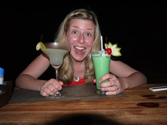 Chivapuri Beach Resort Koh Chang: great cocktails, especaly the pino colada