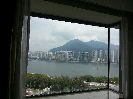 Hyatt Regency Hong Kong Sha Tin: harbour view room