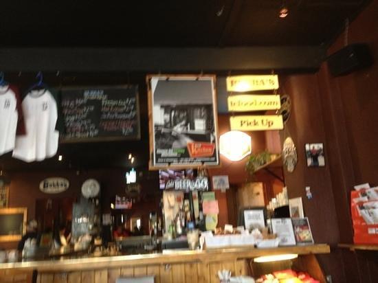 Bubba's : Bar as you enter