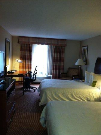 Hilton Garden Inn Chicago / Oakbrook Terrace : Room