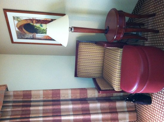 Hilton Garden Inn Chicago / Oakbrook Terrace : Comfortable Seating