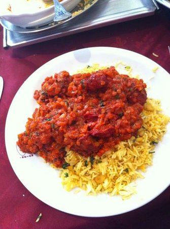 The Indian Plaza: lamb shah-he-shofre -quality!