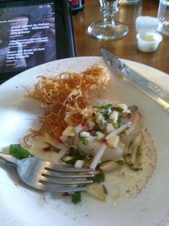 La Salicorne Café : cevice de pétoncles