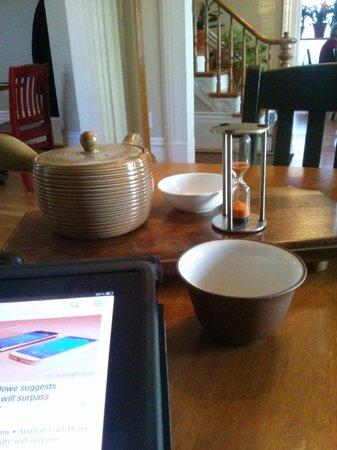 La Salicorne Cafe : thé détheiné