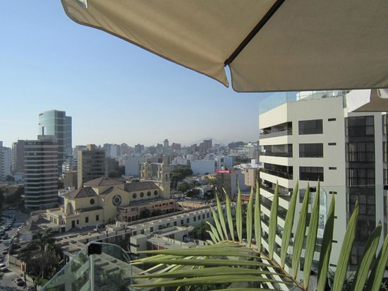 Miraflores Suites in Lima Peru: View from the roof