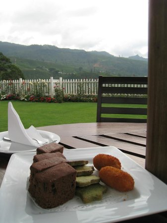 Langdale by Amaya : High tea in the garden