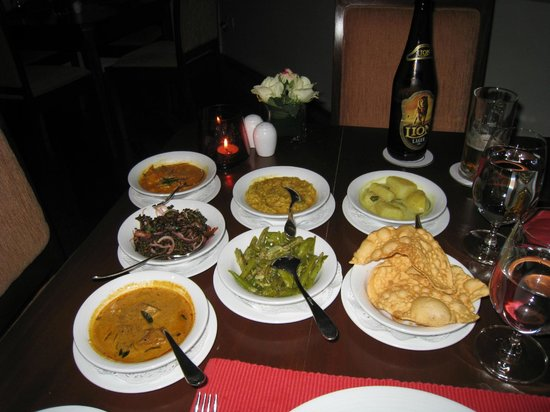 Amaya Langdale: Curry in the restaurant - excelent