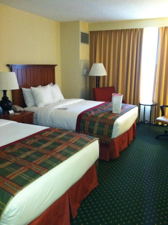 Doubletree Hotel Chicago Oak Brook: Room