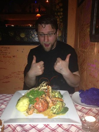 Nonna Rosa: Lobster is amazing!!