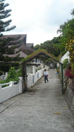 Estancia Resort : walkway