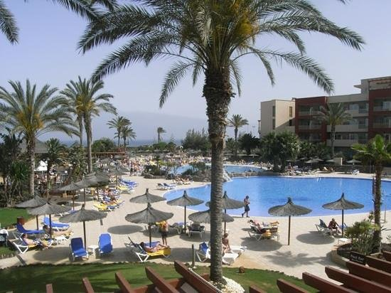 Elba Carlota Beach and Convention Resort: from the Terrace bar balcony