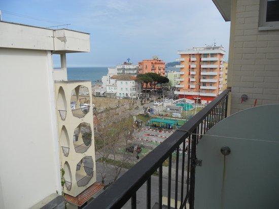 Hotel Bristol: vista dal balconcino