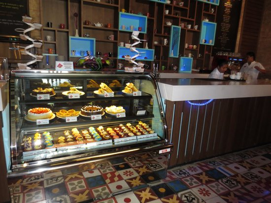 Sandos Playacar Beach Resort: Cupcake Cafe