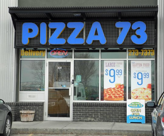 Reviews on Pizza 73 in Calgary, AB - search by hours, location, and more attributes.