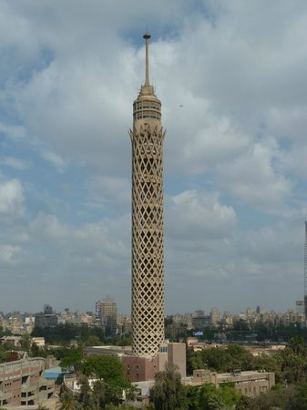 Novotel Cairo El Borg: Cairo tower