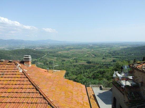 Antico Borgo: la vista dalla nostra camera