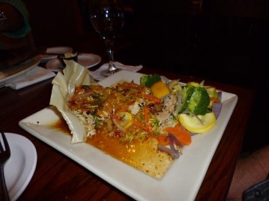 Johnny Leverock's Seafood House: sesame grouper