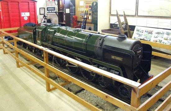 Conwy Valley Railway Museum & Model Shop: Britannia - scale model
