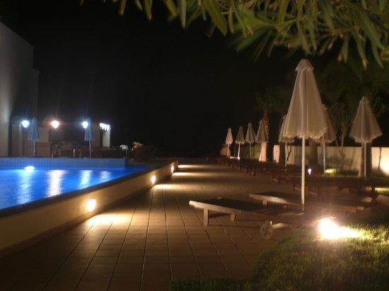 โรงแรมซานตามารินาพลาซา: View vanuit restaurant