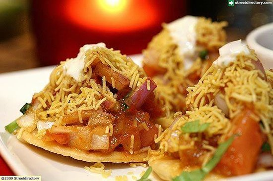 WTF - What Tasty Food: Sev Puri - a famous Bombay street food