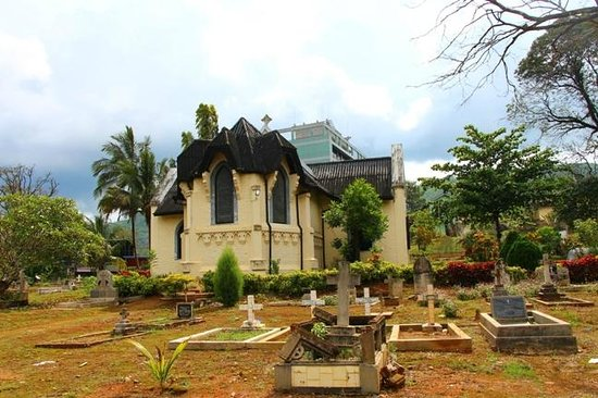 Badulla, Srí Lanka: St Marks