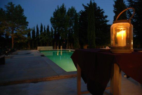 Maison Hotes K-Za: Dîner en terrasse...