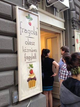 Photo of Restaurant Fragola at Nagymező U. 7, Budapest 1065, Hungary