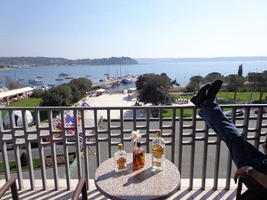 Grand Hotel Portoroz: vue de la chambre