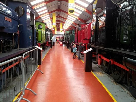 Middleton Railway: Exhibition hall