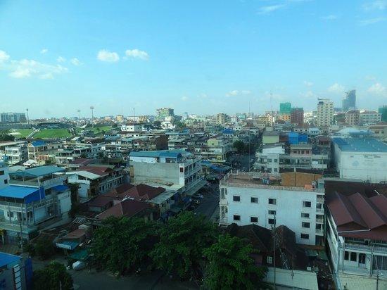Salita Hotel: Vue depuis la chambre