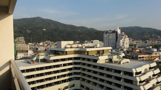 Patong Tower Holiday Rentals: View from room