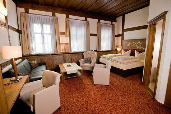 Hotel Burg Colmberg: Zimmer ist auch für vier Personen geeigntet