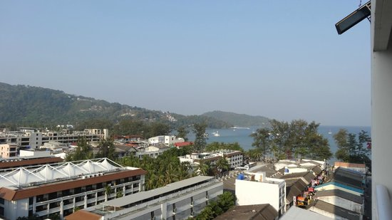 Patong Tower Holiday Rentals: Sea View from Room