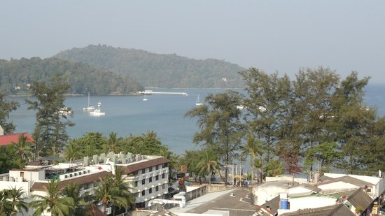 Patong Tower Holiday Rentals: Patong Beach/Sea view from room