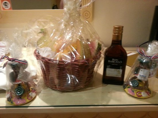 Grand Palladium Palace Resort Spa & Casino: welcome gifts