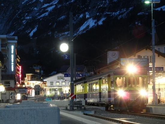 Belvedere Swiss Quality Hotel: Noche en Grindelwald