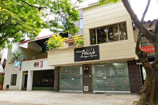 Hotel Poblado Boutique Medellin: Fachada del Hotel