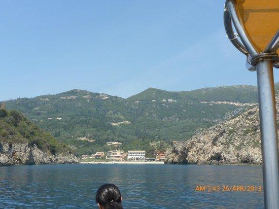 Apollon Hotel: Paleo from the sea
