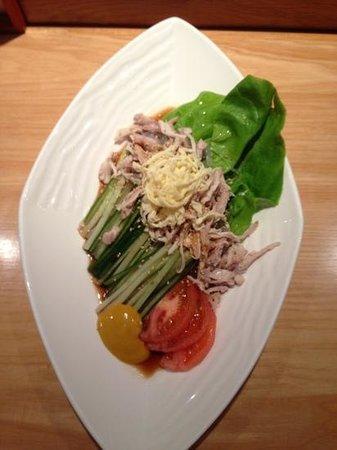 Ikeda: harusame salad