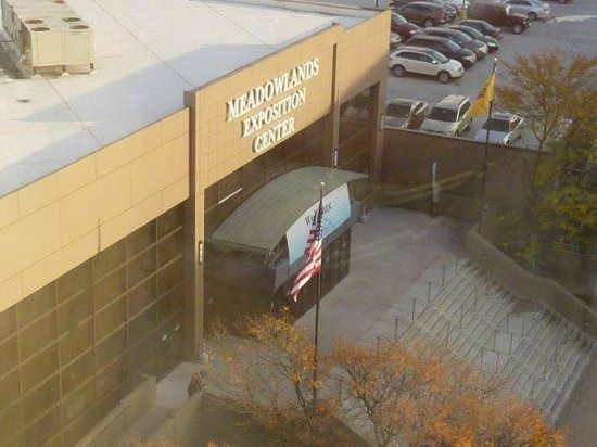 Meadowlands Exposition Center: View from Embassy Suites