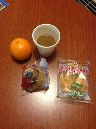 Vagabond Inn San Jose (SJC Airport): Frühstück