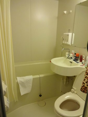 Toyoko Inn Kanazawa Kenrokuen Korinbo: Bathroom