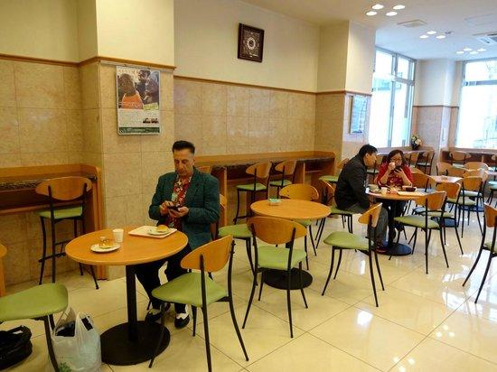 Toyoko Inn Kanazawa Kenrokuen Korinbo: Breakfast/dining area